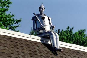 The Tin Man's View from the Top of the Office